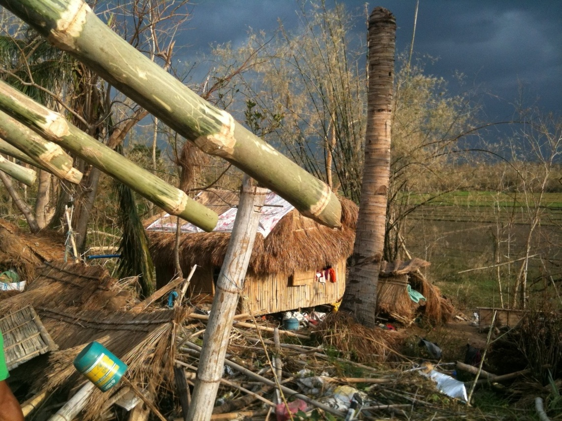 In October 2010, Typhoon Megi destroyed homes and affected nearly 2 million people in the Cagayan Valley Region of the Philippin