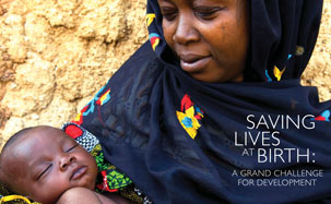 Photo of a woman and Child: Saving Lives at Birth