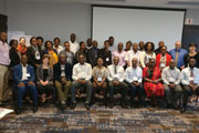 Attendees at the Project SOAR capacity stregthening workshop included local researchers from 10 different African countries