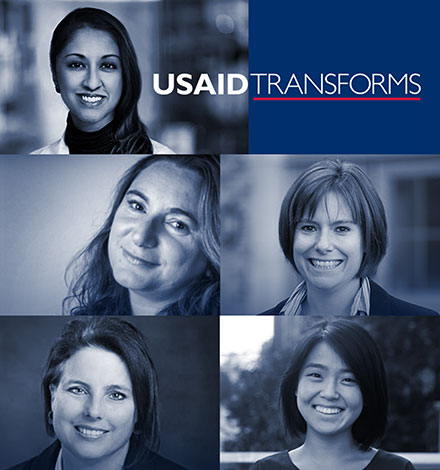 <br /> USAID transforms