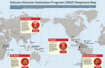 Volcano Disaster Assistance Program Response Map