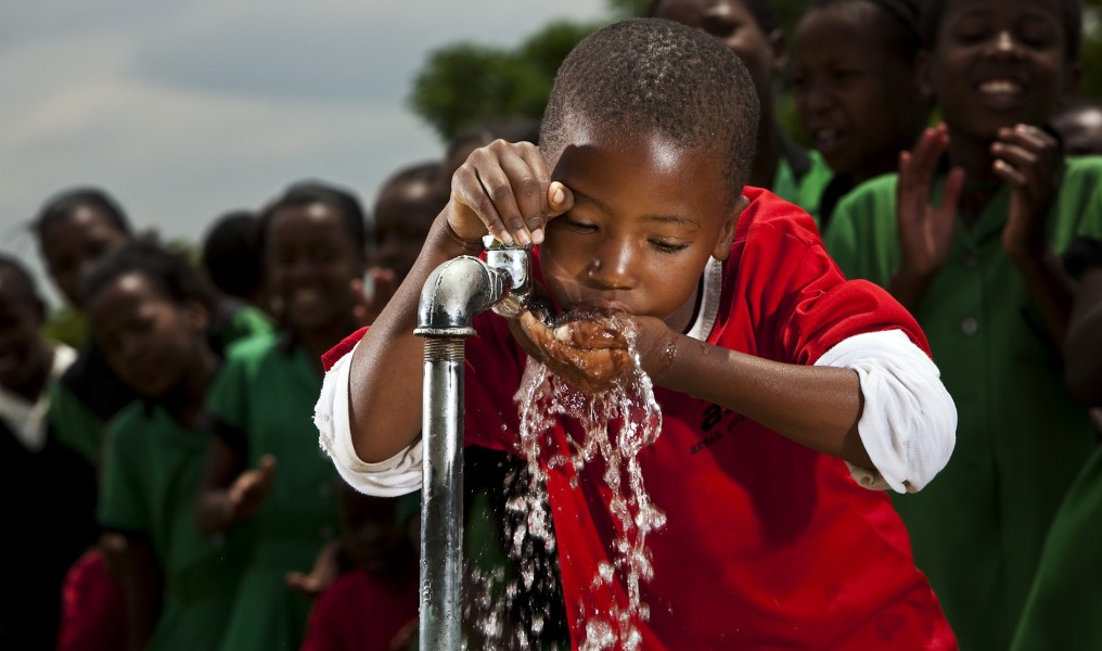 The Coca-Cola Company and USAID have created a unique partnership to address community water needs in developing countries aroun