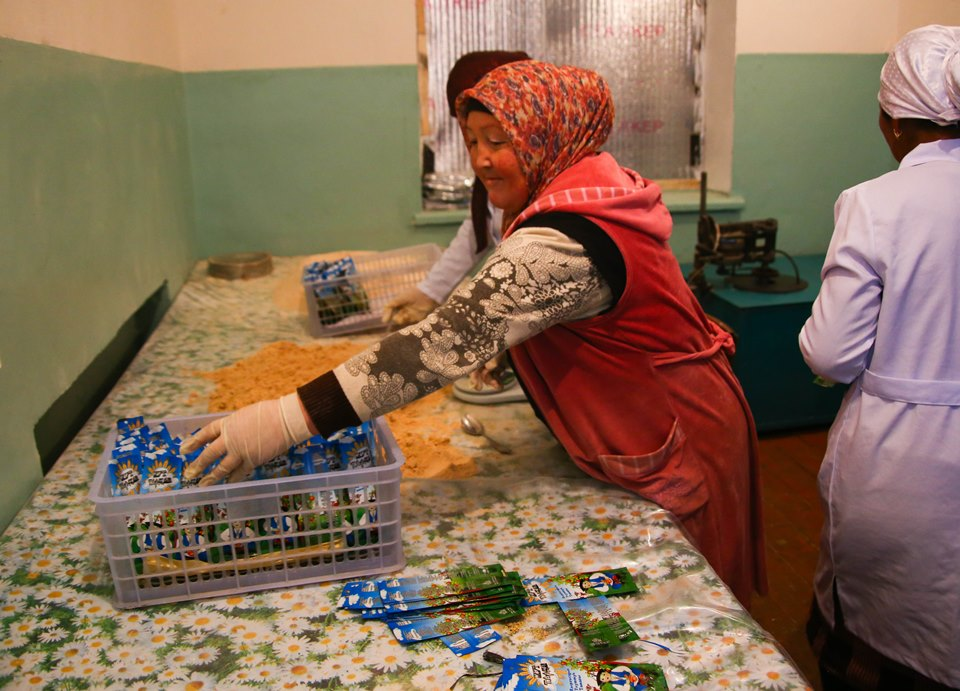The Women's Leadership in Small and Medium Enterprises (WLSME) works with women entrepreneurs in garment production, tourism, an