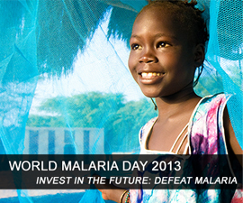 World Malaria Day 2013