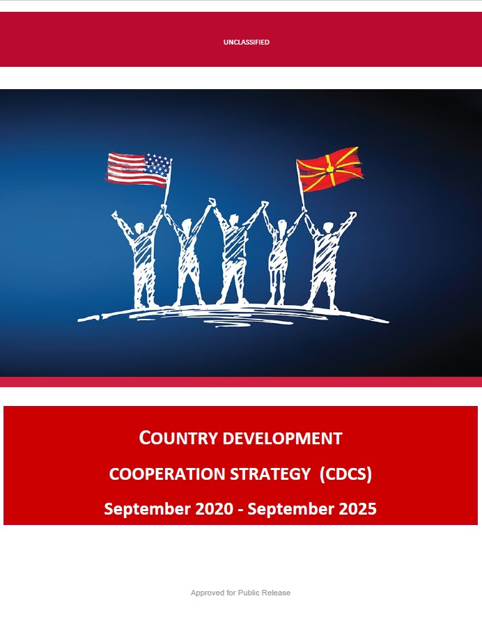 Country Development Cooperation Strategy (CDCS) - North Macedonia