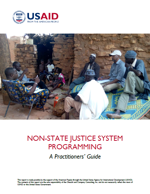 Non-State Justice System Programming - A Practitioners' Guide