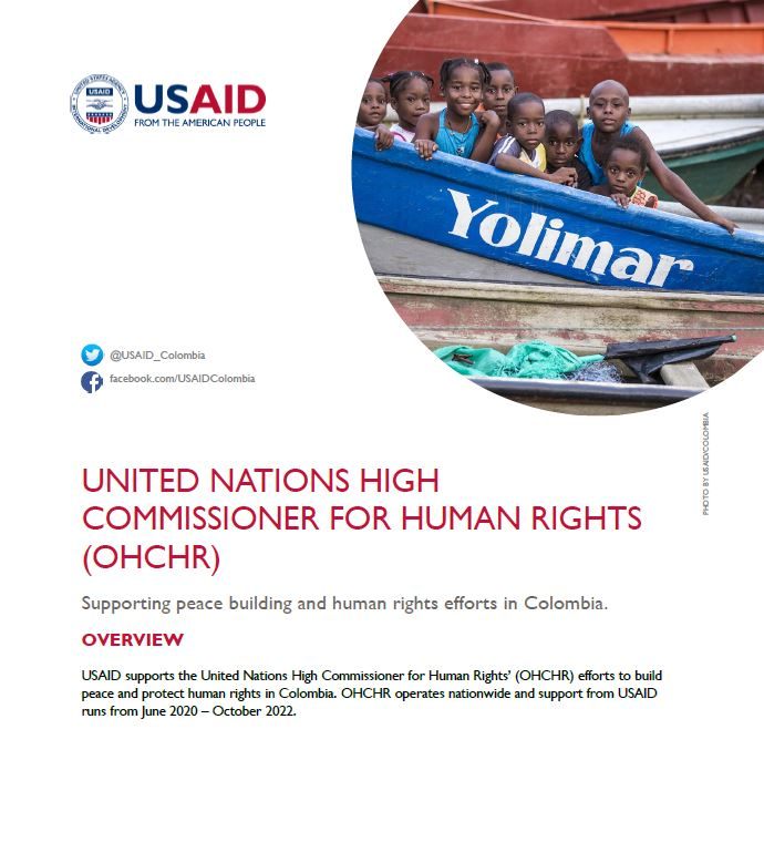 United Nations High Commissioner for Human Rights' (OHCHR) Fact Sheet