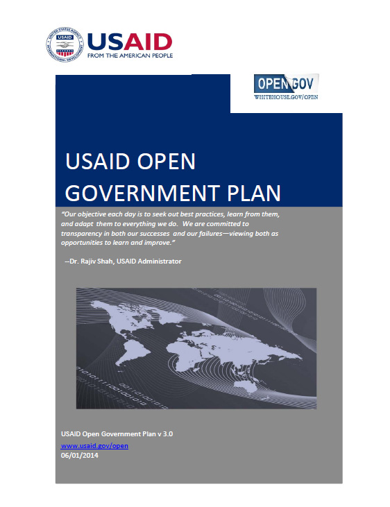 USAID Open Government Plan 3.0