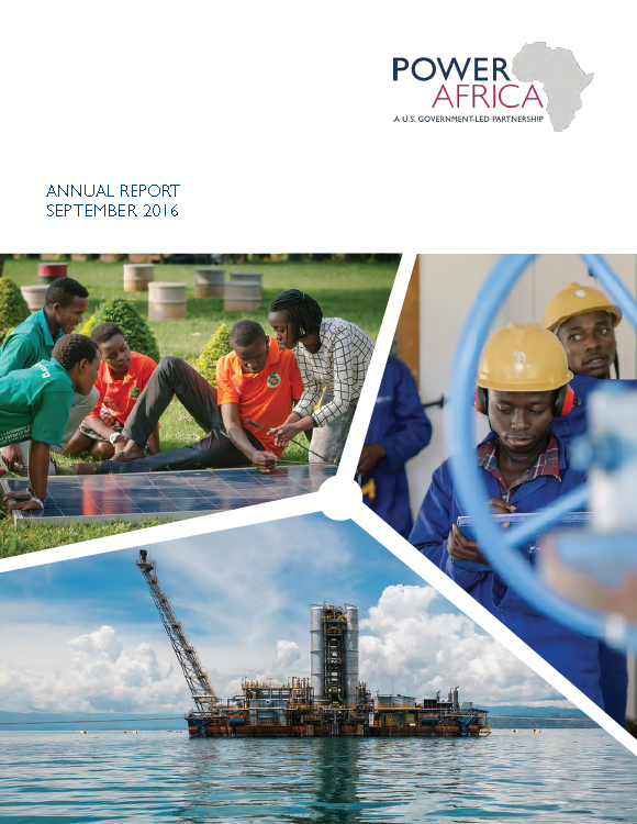 Power Africa Annual Report 2016