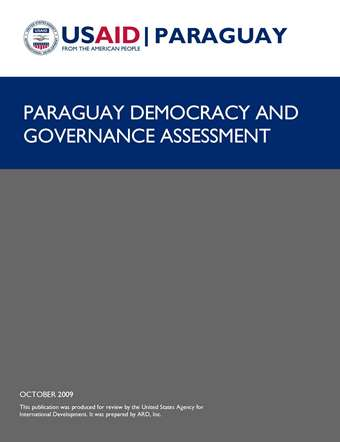 Paraguay Democracy and Governance Assessment 2009