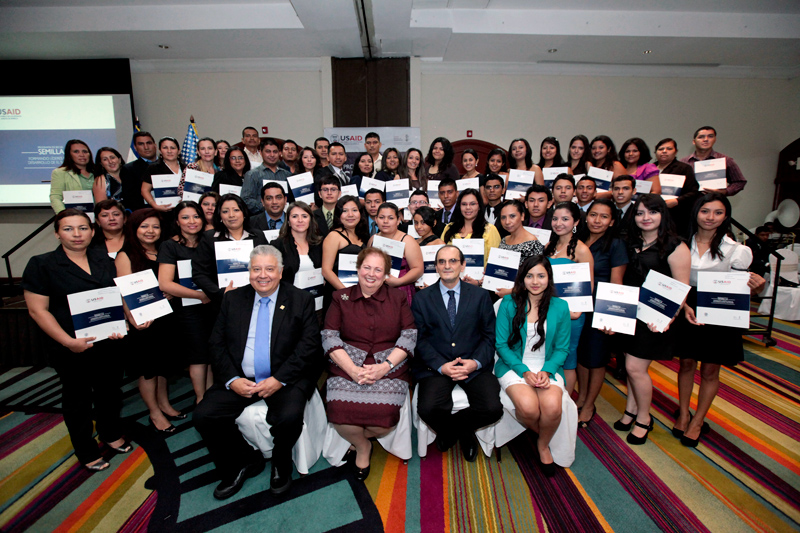 Since 1989, USAID has invested over $20 million in scholarships that have benefited more than 1,000 Salvadorans.