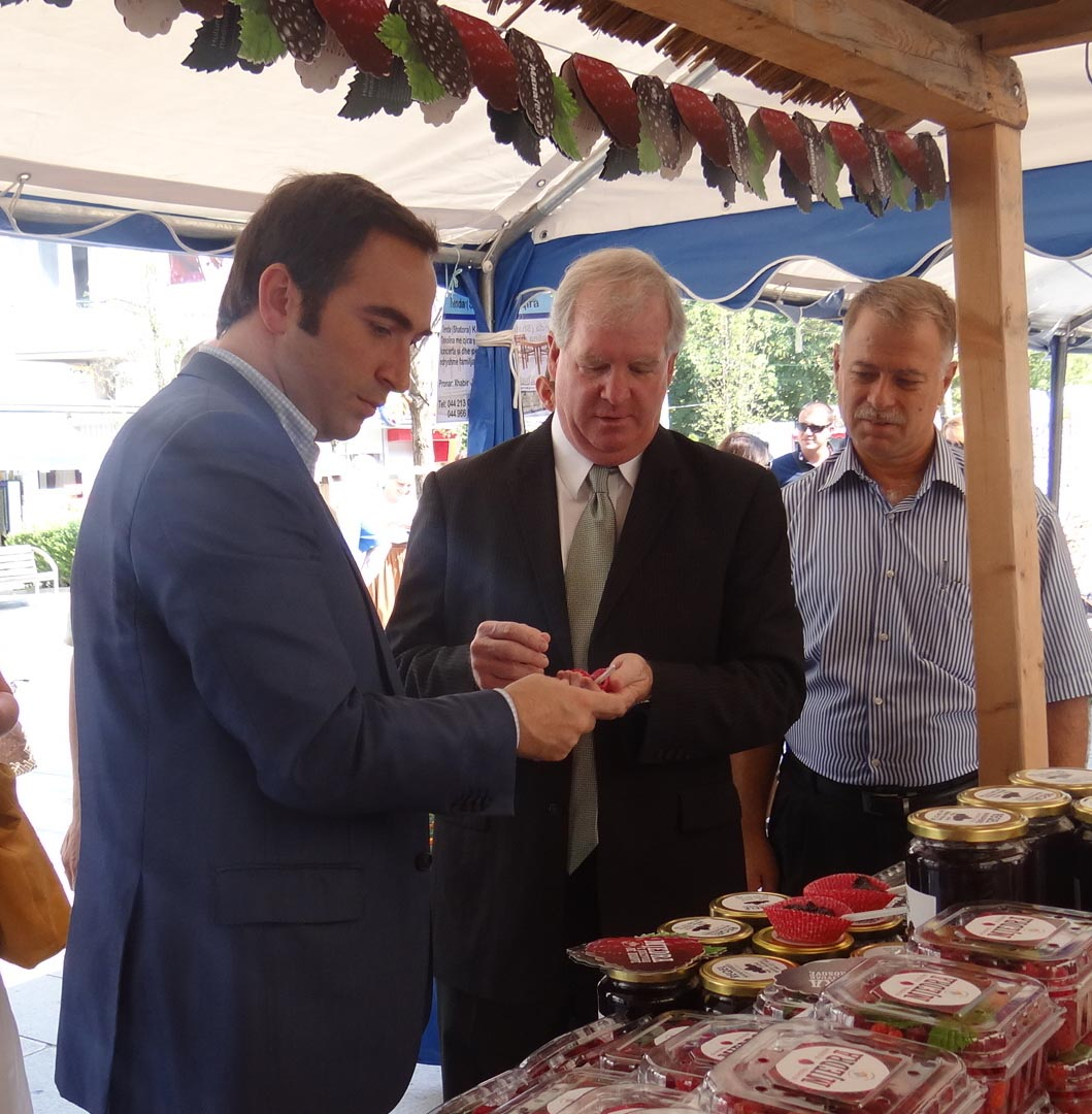 """Farmers Sold Six Tons of Fresh Berries at Pristina's """"Berry Days"""" Festival"""