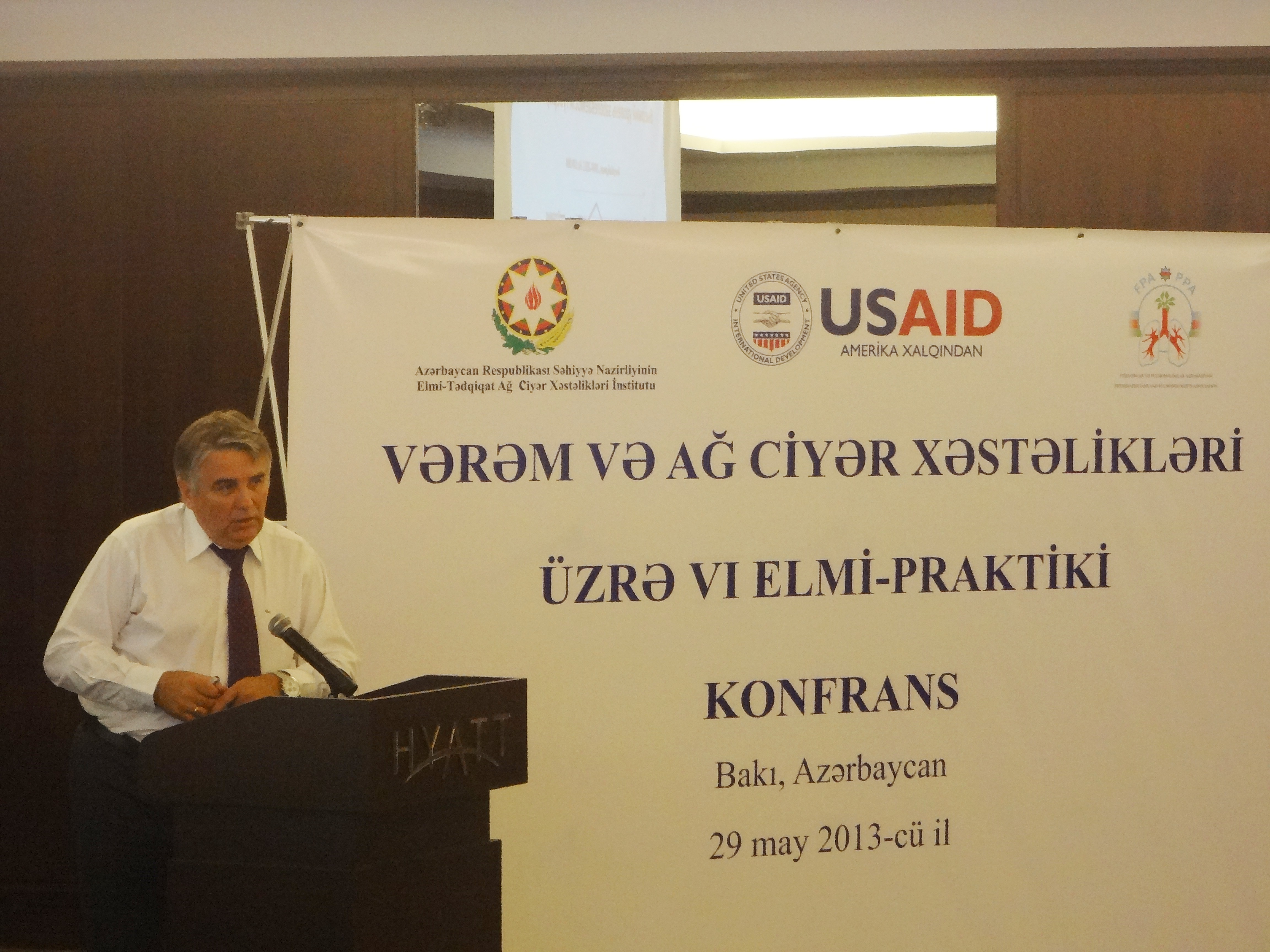USAID Hands Over Tuberculosis Activities To Its National Partner In Azerbaijan