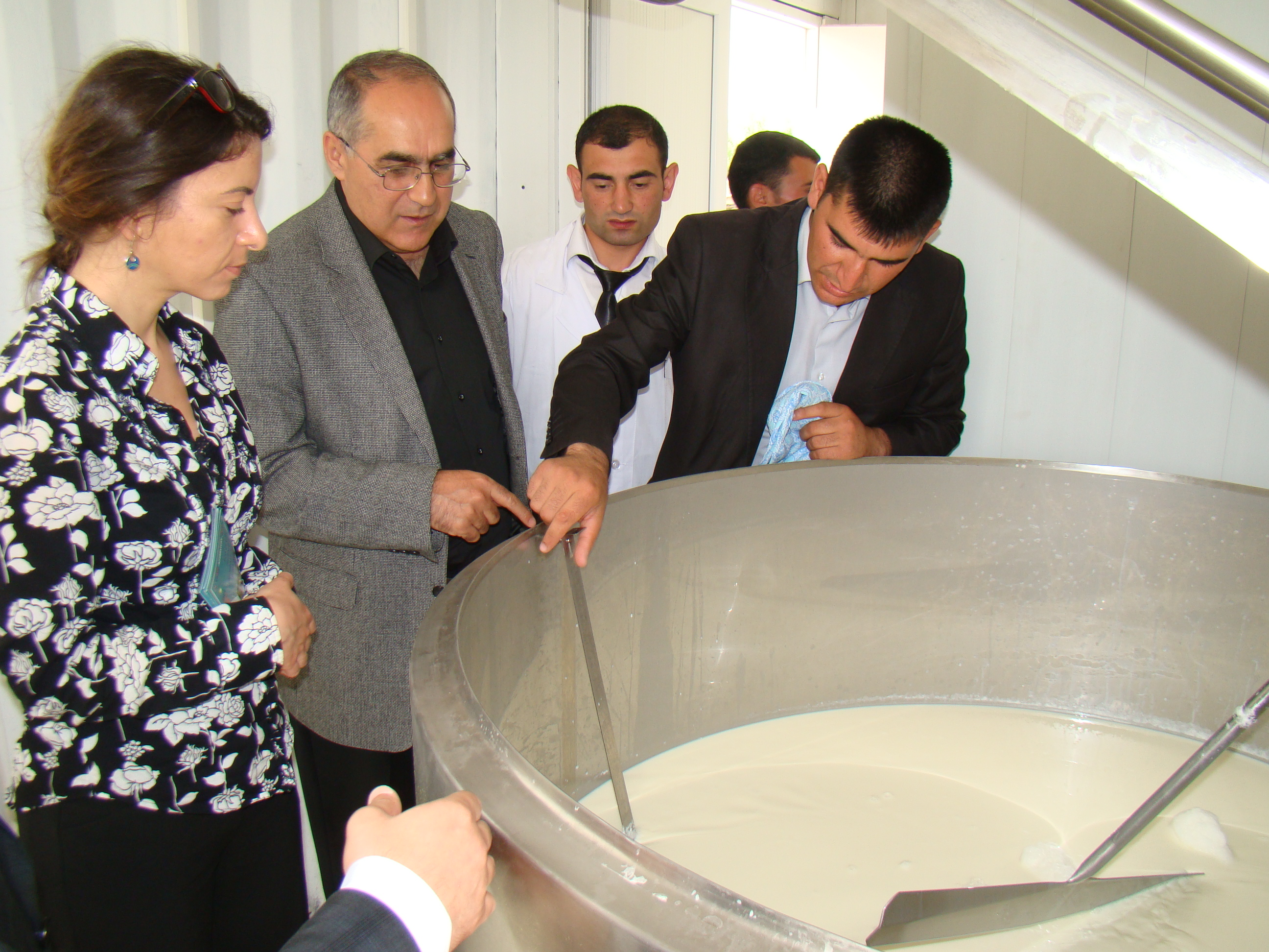 New Milk Collection Facility Opens in Goranboy