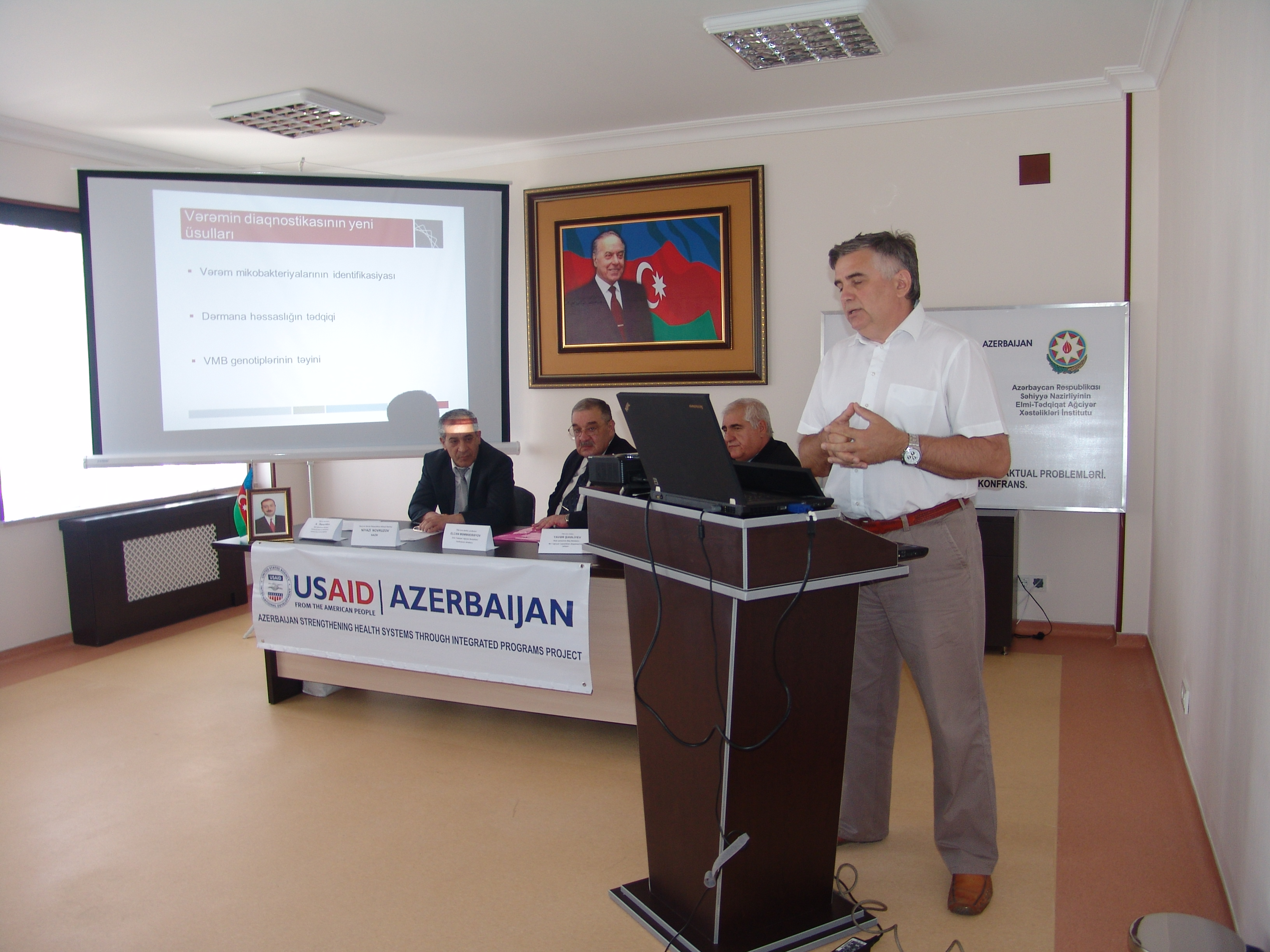 conference  on TB and lung diseases in Nakhchivan