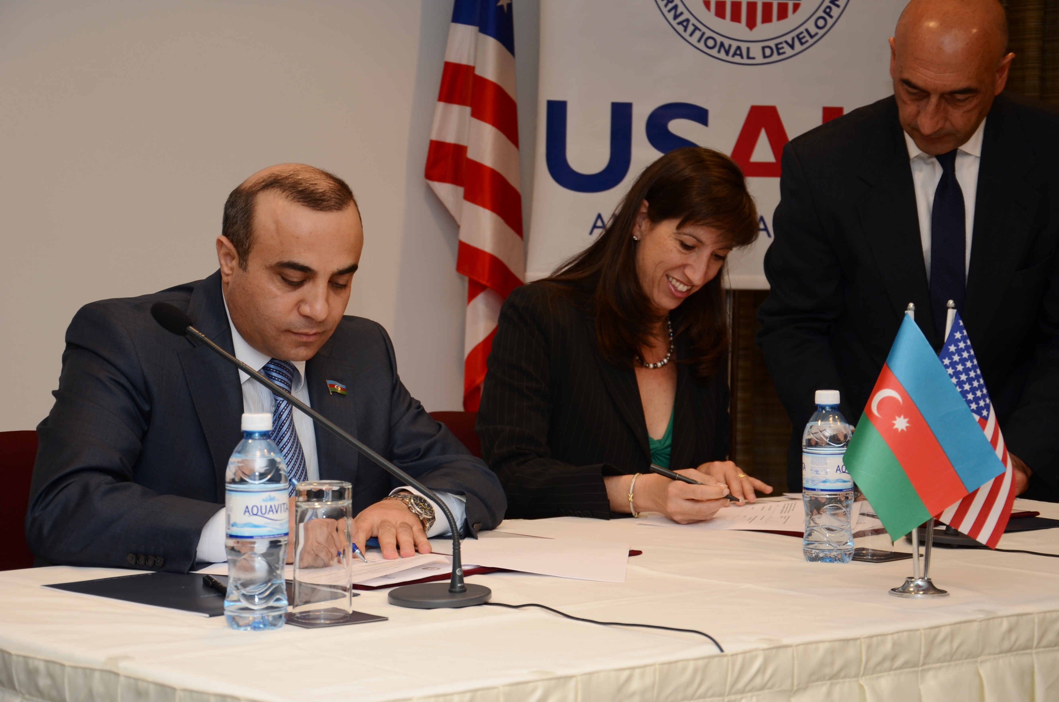 USAID and NGO Council sign the memorandum of understanding