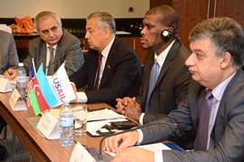 Participants discussed recommendations for improving Azerbaijan's entrepreneurial environment in key areas.