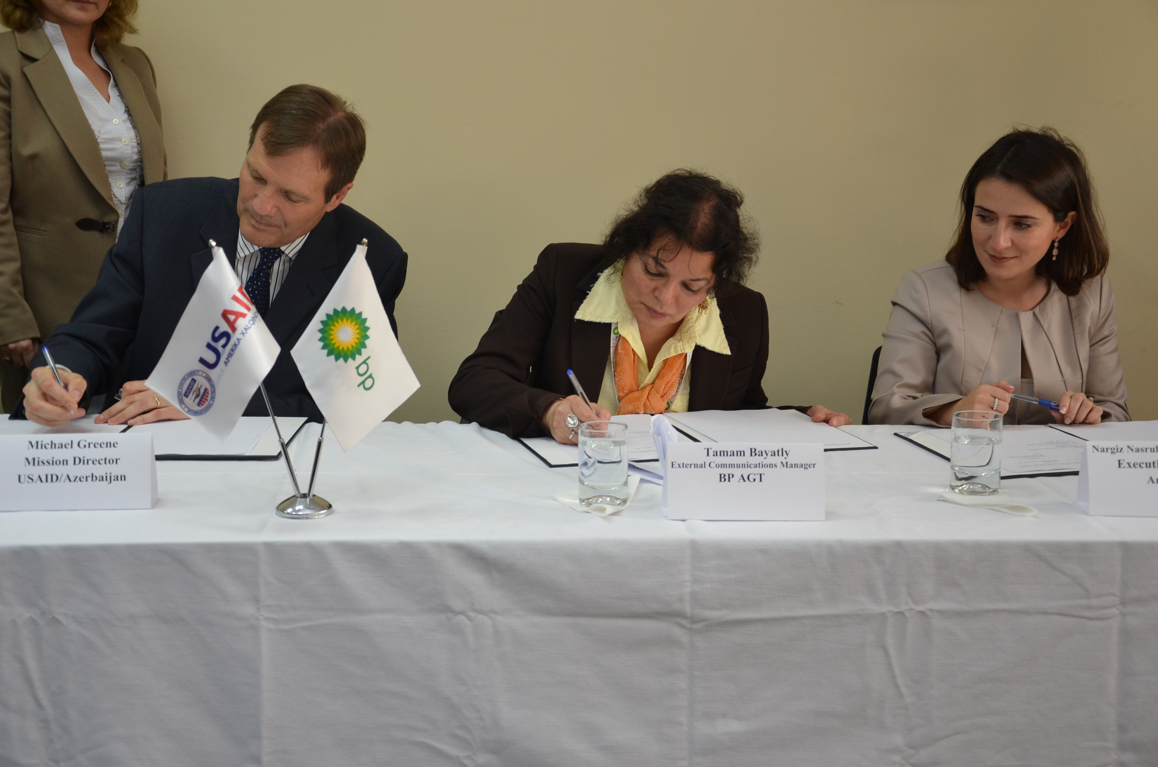 USAID, BP, and AmCham to Support Youth Business Education