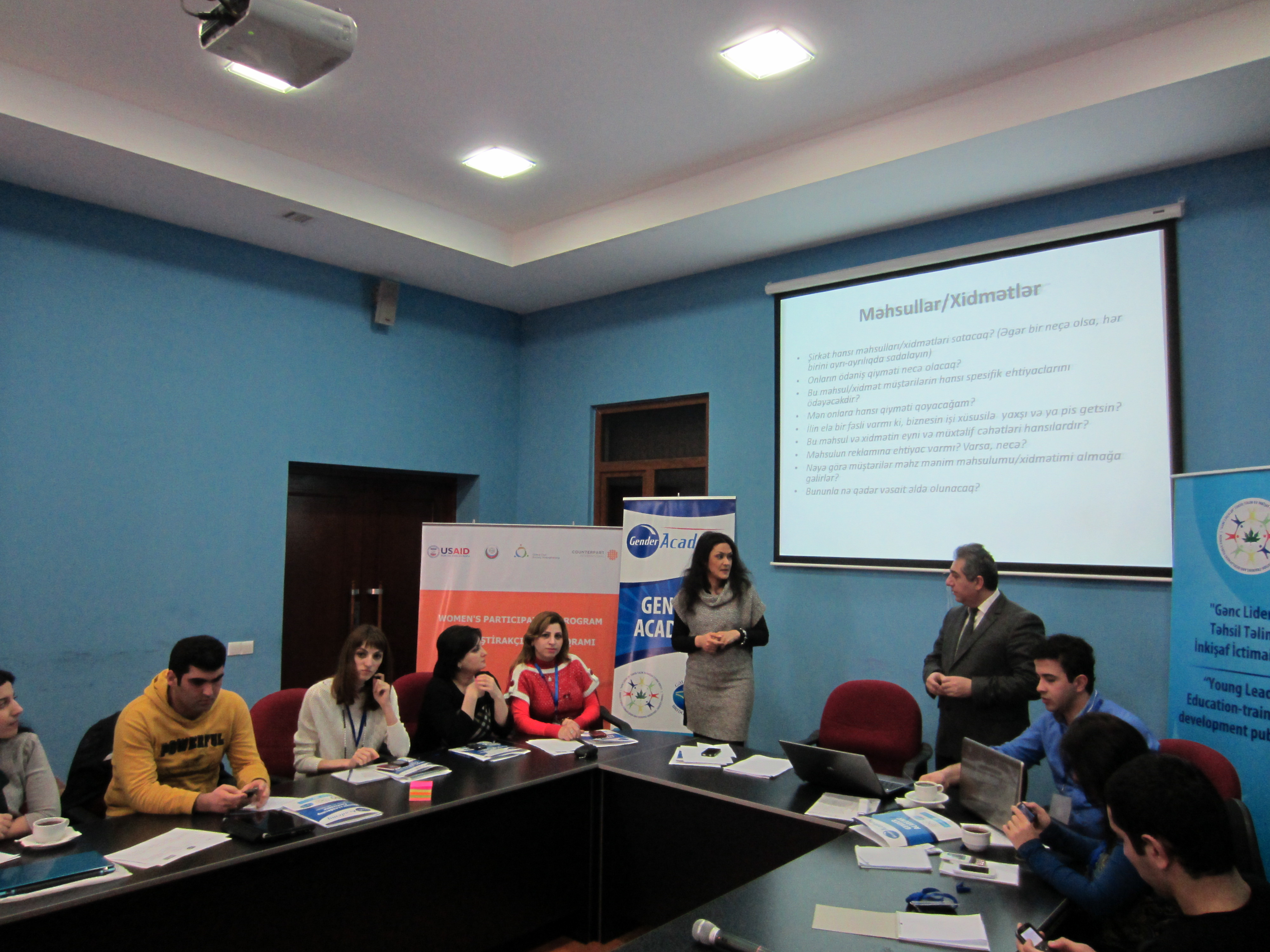 """USAID Joins United Nations Democracy Fund to Organize """"Gender Academy"""" for Youth"""