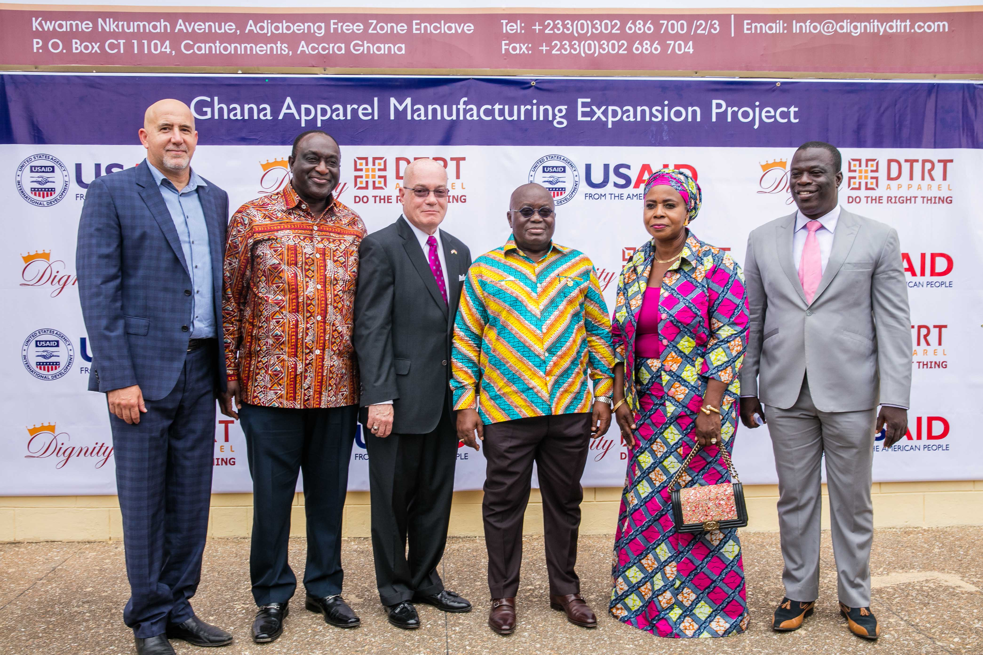 More than 1,100 new jobs, USAID supports Dignity DTRT Limited Ghana