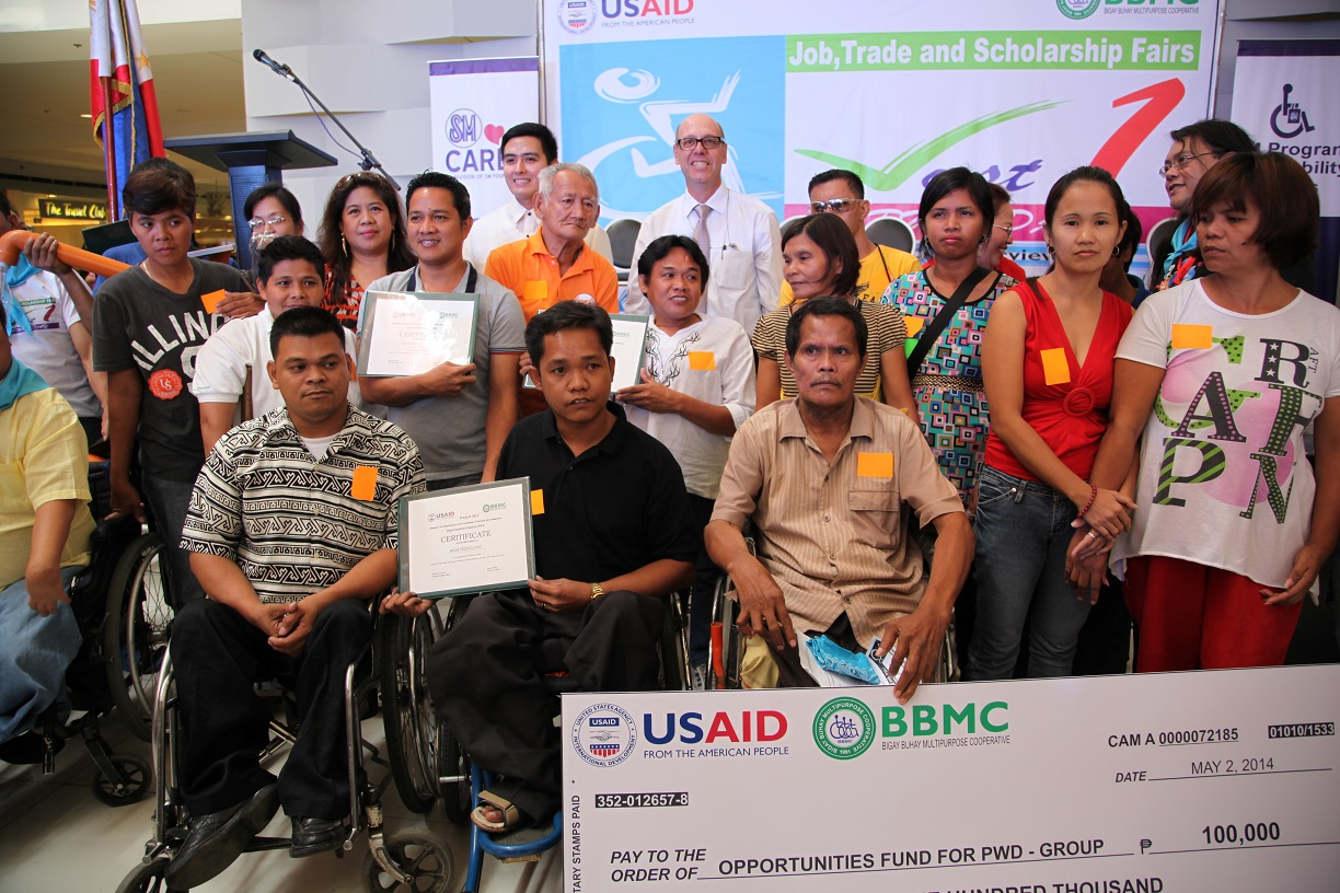 US Government Works to Improve Welfare of Persons with Disabilities  in the Philippines