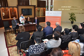 USAID promotes women's participation in the democratic development of Azerbaijan.