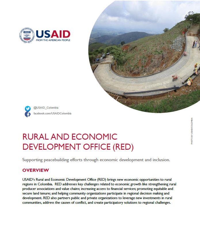 Rural and Economic Development Office (RED) Fact Sheet