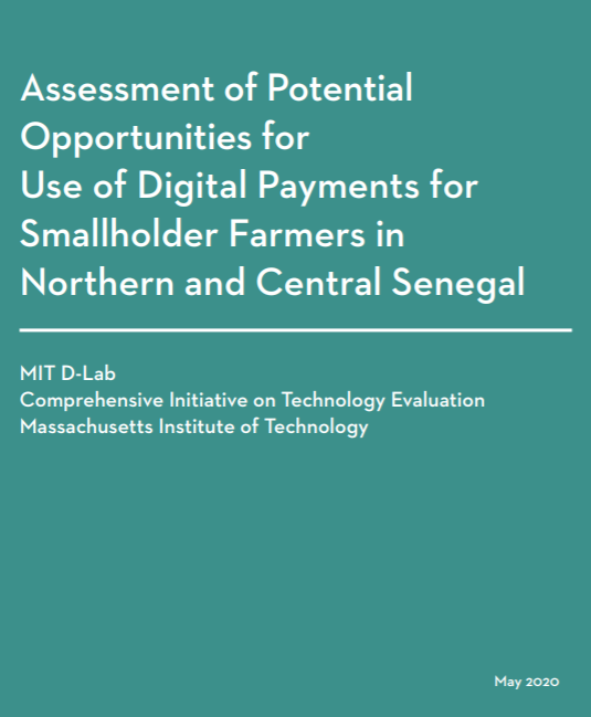 Assessment of Potential Opportunities for Use of Digital Payments for Smallholder Farmers in Northern and Central Senegal
