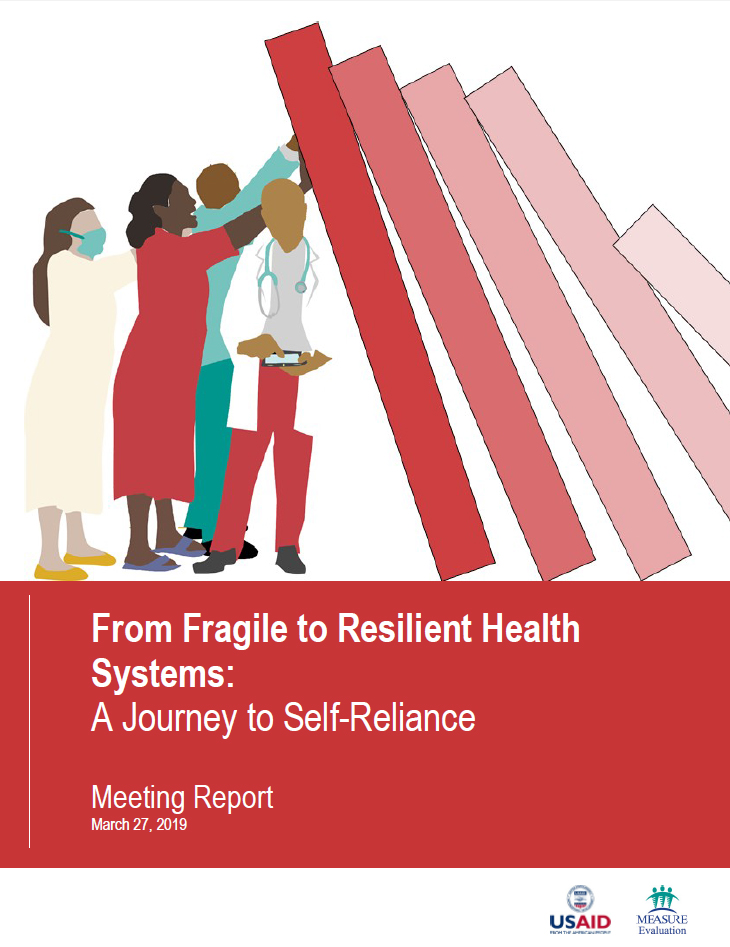From Fragile to Resilient Health Systems: A Journey to Self-Reliance report cover