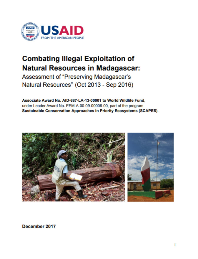 Combating Illegal Exploitation of Natural Resources in Madagascar