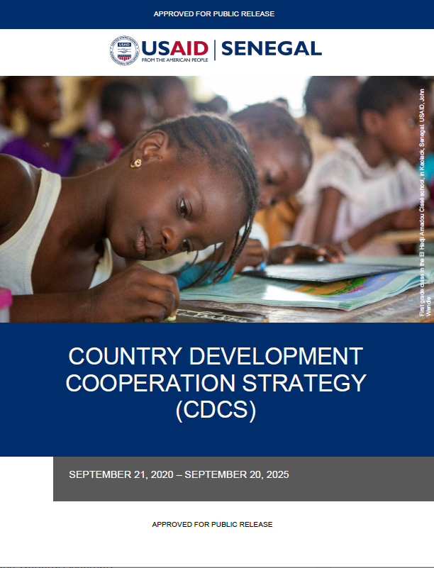 Senegal 2020-2025 Country Development Cooperation Strategy (CDCS)