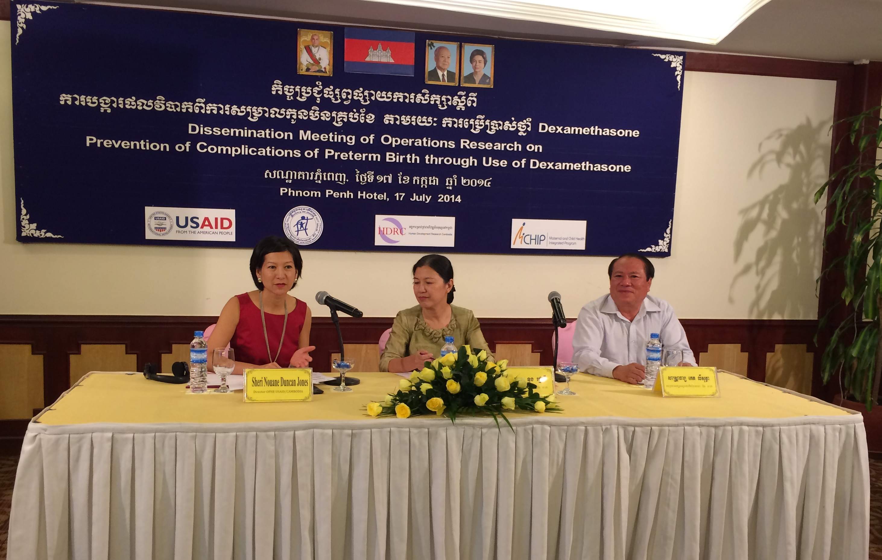 Remarks by Sheri-Nouane Duncan-Jones, Director, Office of Public Health and Education, USAID Cambodia