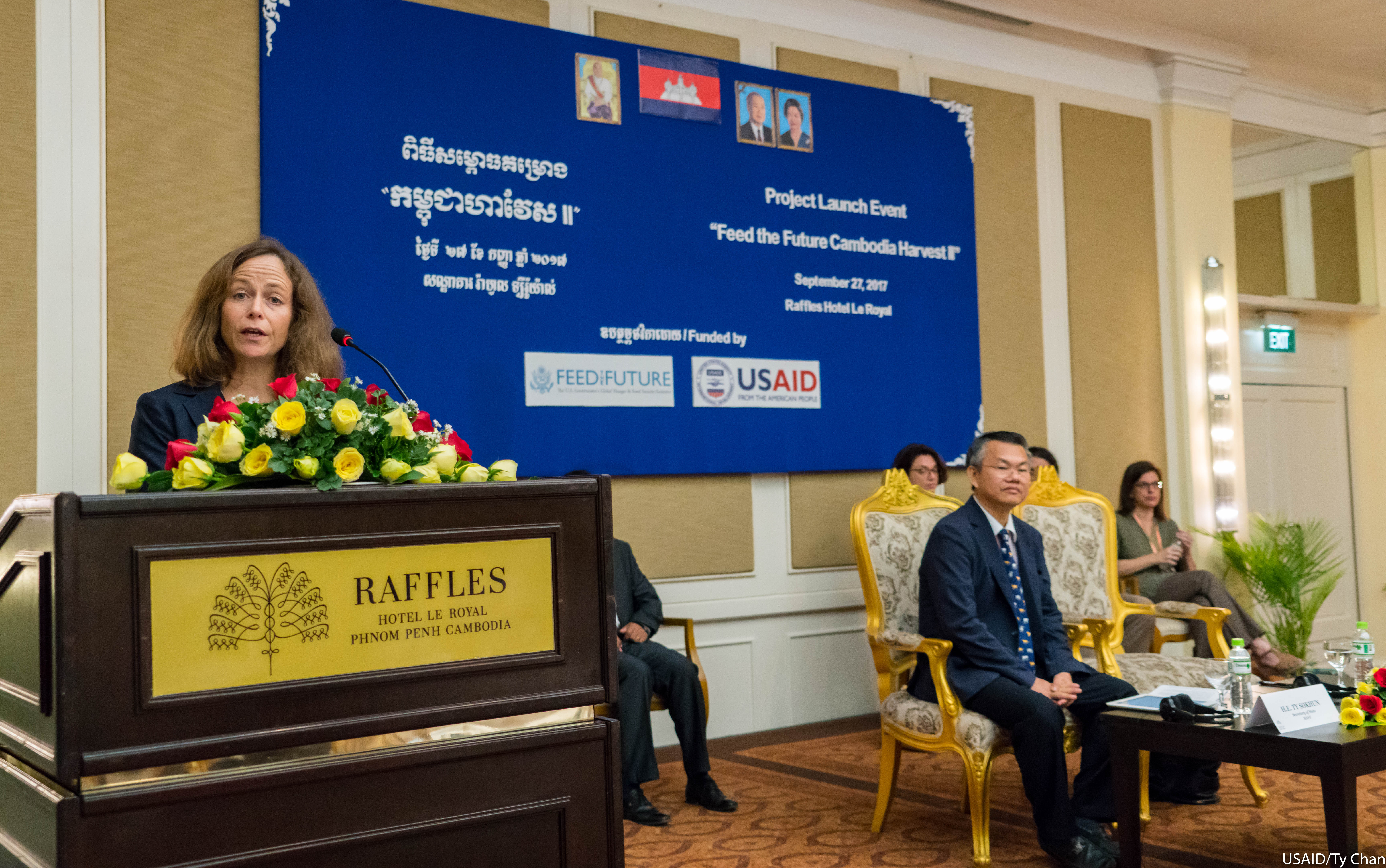 Remarks by Polly Dunford, Mission Director, USAID Cambodia