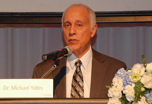USAID Asia Mission Director Michael Yates speaks at the launch of the Center for Civil Society and Nonprofit Management