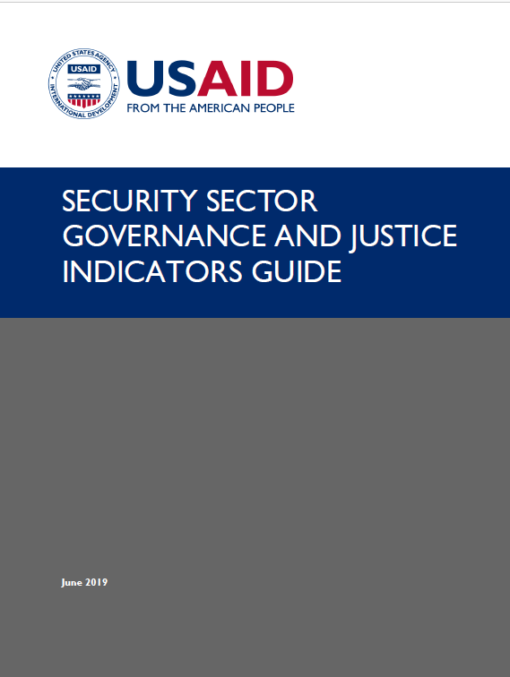Security Sector Governance and Justice Indicators Guide
