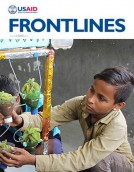 FrontLines January/February 2017. Photo credit: Neha Khator, USAID