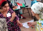 Tajik teachers learn techniques to make their classrooms more conducive to student learning.