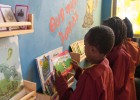 Tsehai Reading Corner: Children from Yeka Primary School visit the Whiz Kids Workshop in Addis Ababa.