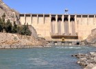 The Naghlu hydroelectric dam on the Kabul River supports the largest hydroelectric power station in Afghanistan.