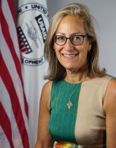 Photo of Jo Lesser-Oltheten, USAID Mission Director to Niger