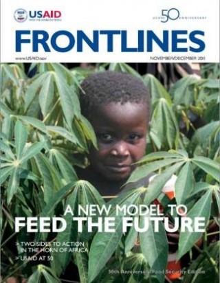 Frontlines cover: 50 Years and Food Security