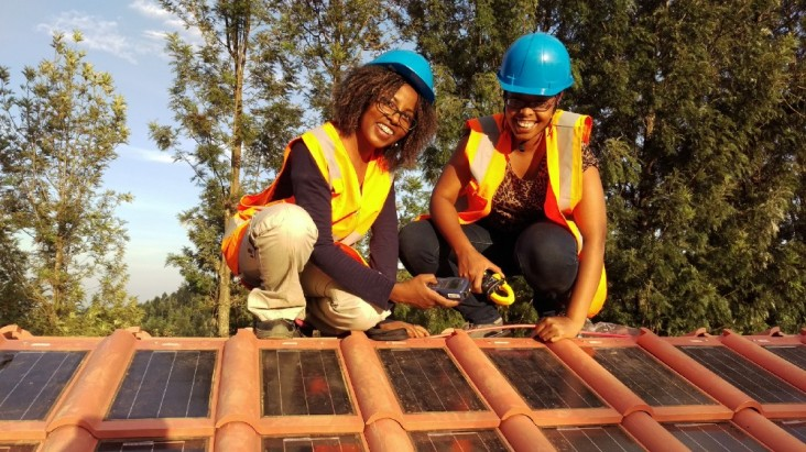 Women in Africa are accelerating electricity access through residential solar power.