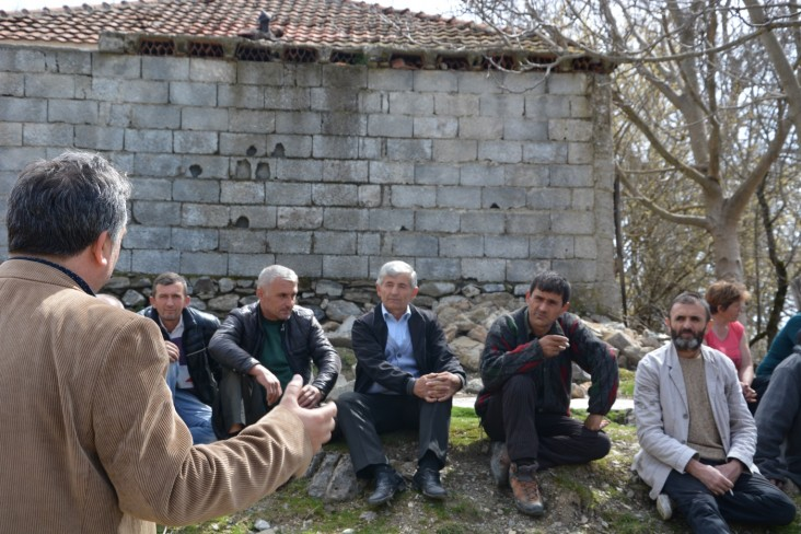 USAID project conducts community outdoor meeting