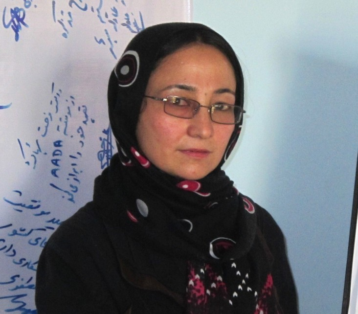 Friba Hashimi is among more than 2,000 nurse-midwives in Afghanistan trained through USAID support.