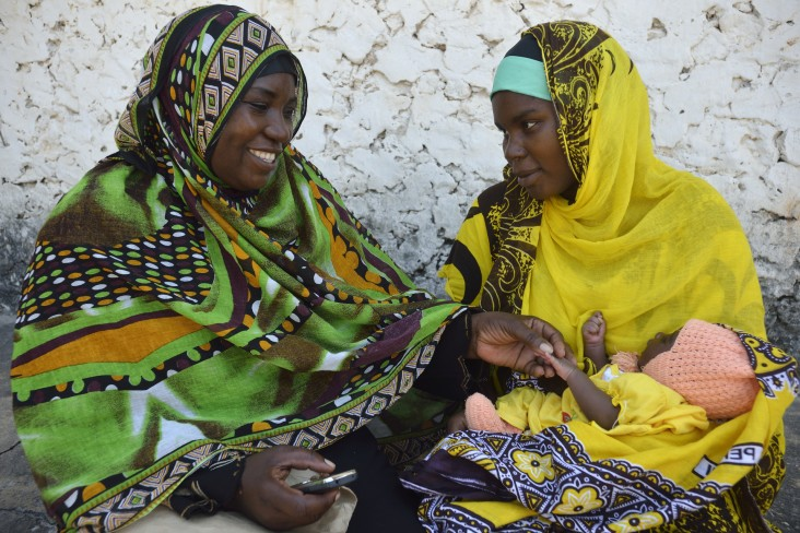 Mothers in Zanzibar are empowered to plan for a safe delivery through the use of an integrated mobile technology