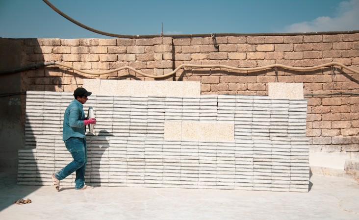 Tile Factory in Mosul, Iraq