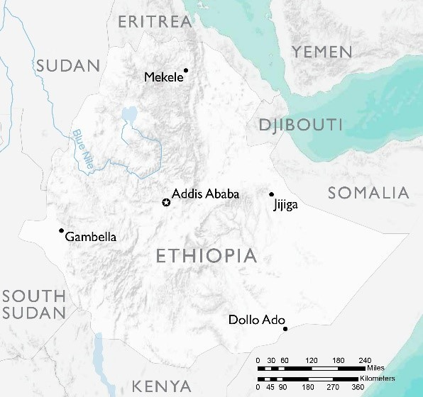 Food assistance fact sheet ethiopia food assistance us map of ethiopia gumiabroncs Choice Image