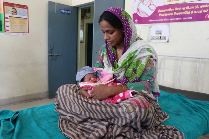 """Gulistan is one of the more than 31,900 mothers in the Indian state of Uttarakhand who have benefited from the USAID-supported """"Care around Birth"""" approach."""