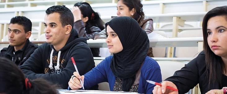 Tunisian students
