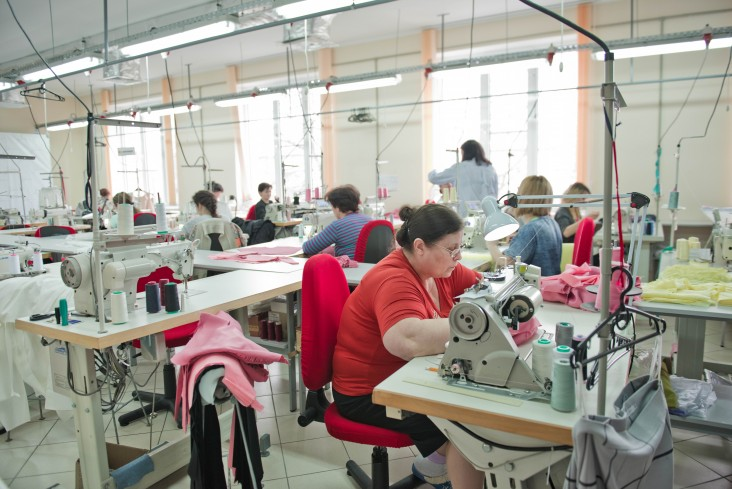 Textile factory in Moldova